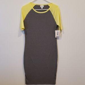 Lularoe Julia t-shirt dress size small nwt